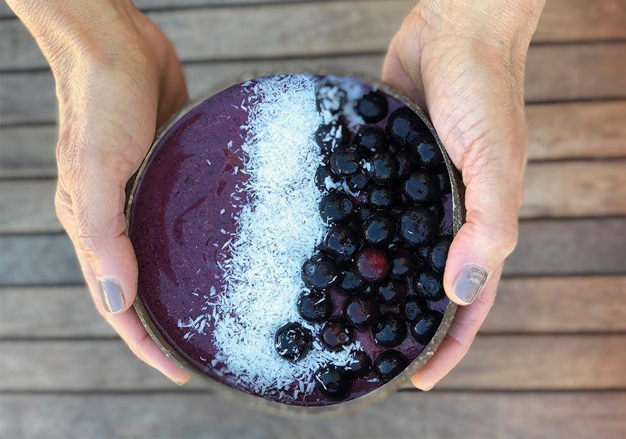 Blueberry Power Bowl Recipe