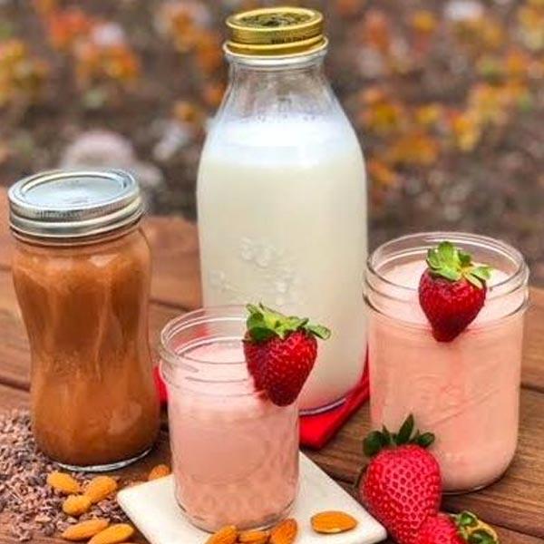 Sweet n' Creamy Non-Dairy Milkshakes