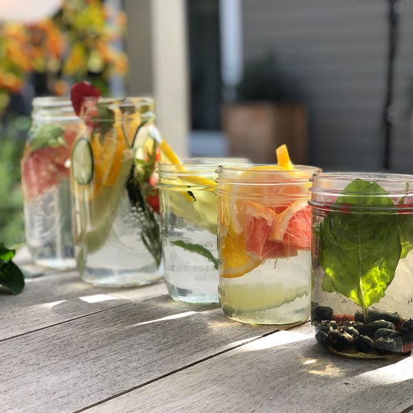 Nora's Exotic Flavor-Infused Water