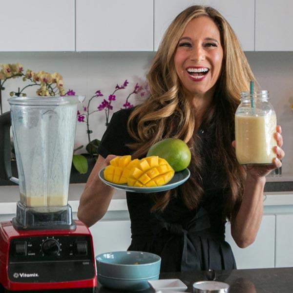 Non-Dairy Indian Mango Lassi Smoothie Recipe