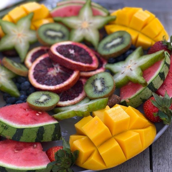 Nora's Show-Stopping Fruit Platter