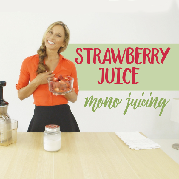 Strawberry Juicing with a Delicious Surprise!