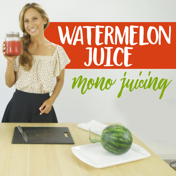 Watermelon Juice – Sweet, Summery, Healthy One Ingredient Juice