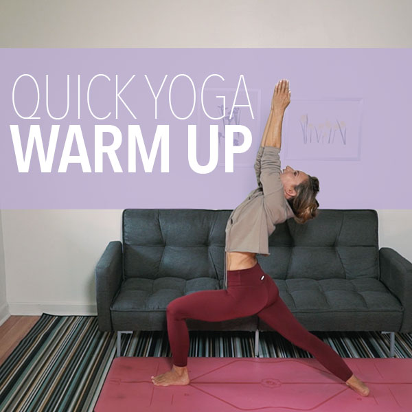 4-Minute Yoga Warm Up