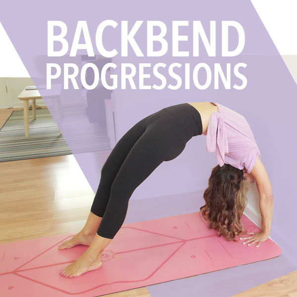 Yoga Backbend Progressions