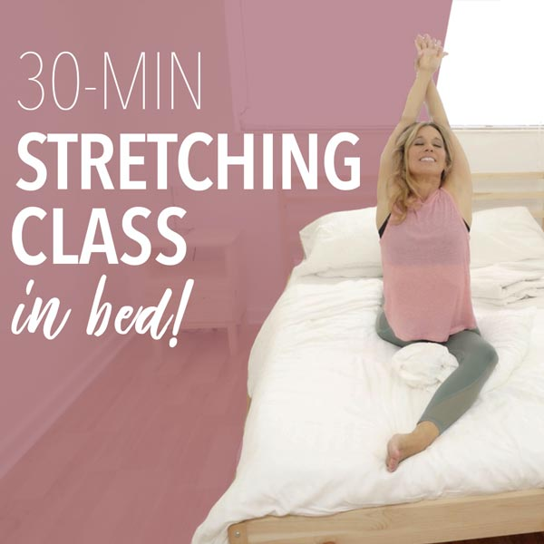 FREE 30-Minute Stretching Class in Bed!