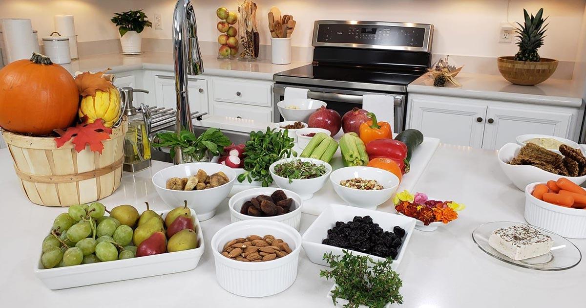 vegan charcuterie platter ingredients