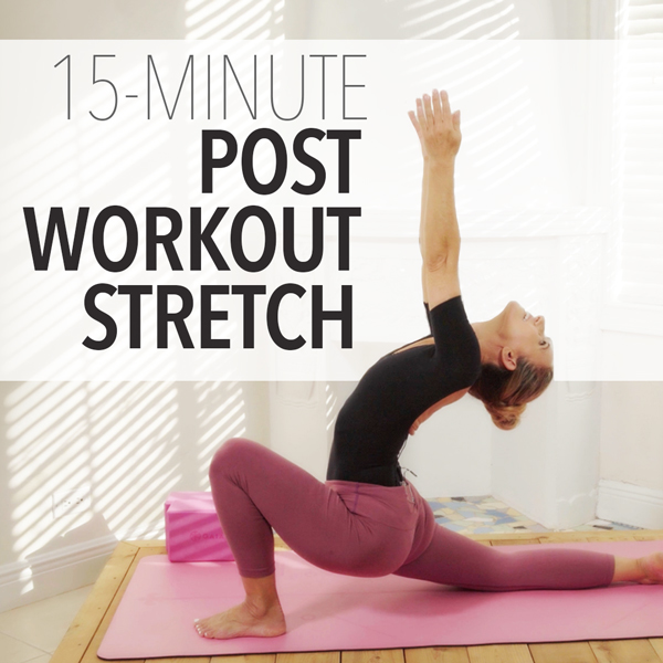 15-Minute Post Workout Stretch
