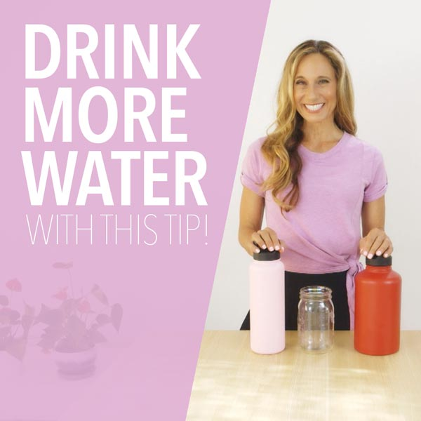 How to Drink More Water with This Tip!
