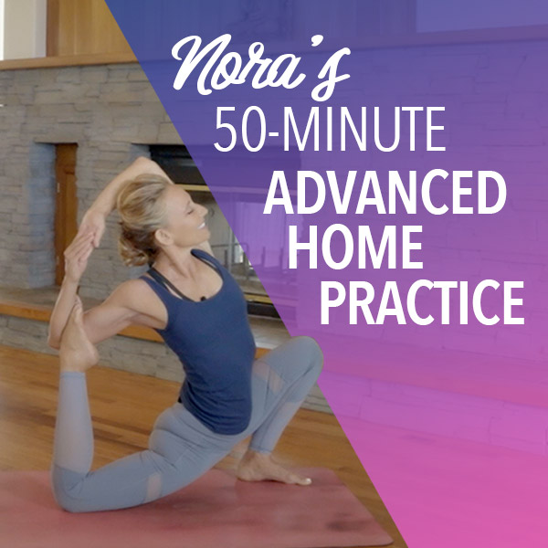 hour long advanced yoga class