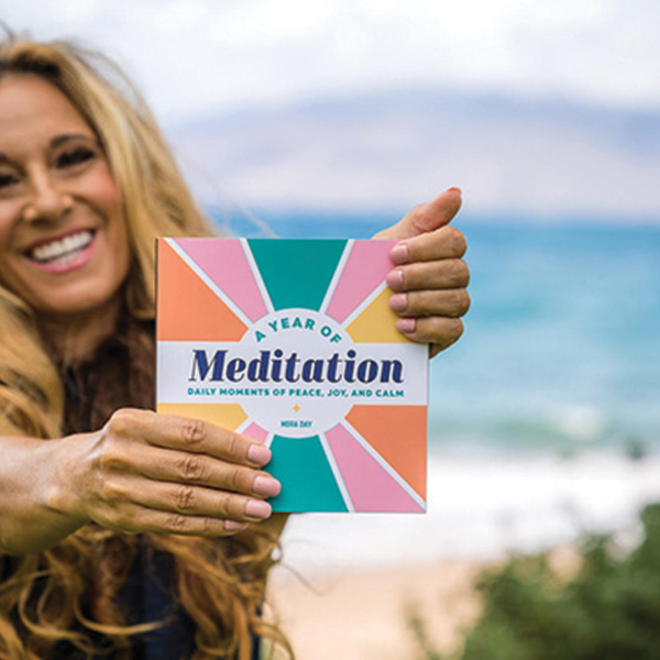 A Year of Meditation – Daily Moments of Peace, Joy and Calm   A New Book by Nora Day